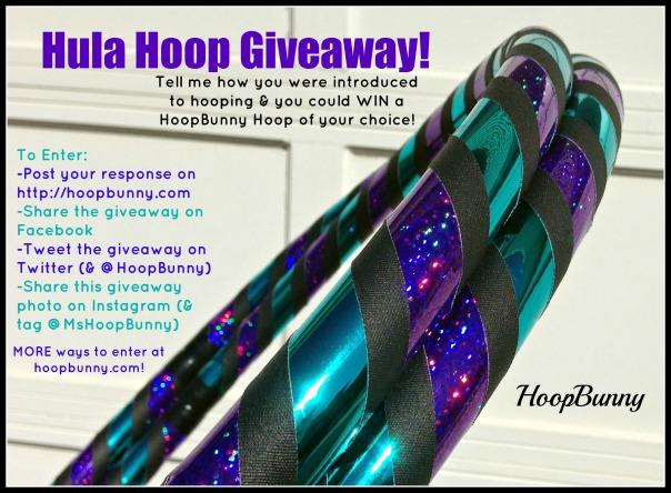 HoopBunny Hula Hoop Giveaway