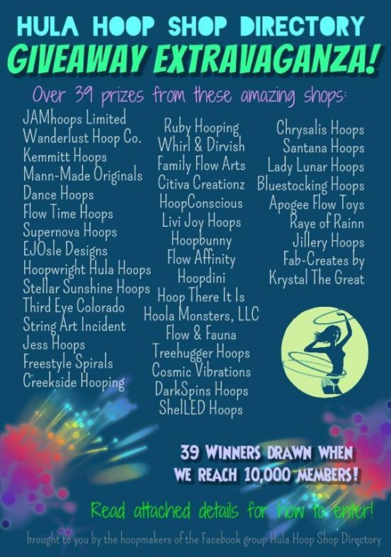 Hula Hoop Shop Directory Contest 2